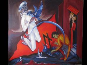 Salomon Magicien 102x116  cm